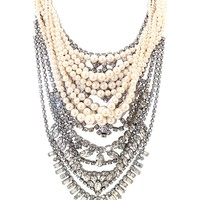 Tom Binns 'Grande Dame' Tangled Necklace