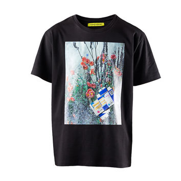Raf Simons x Sterling Ruby Slim Fit Flowers T-Shirt (Black) – RSVP Gallery