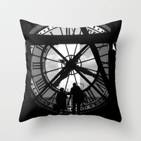 Time Travel Throw Pillow by fineartdada aka David R Shaw | Society6