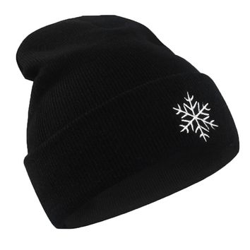 Soft Hats Stretchy Winter Hat Women Men Weather Pattern Cute Knitted Hip Hop Caps Winter Warm Baggy Cap Wool Hat Acrylic Fibres+
