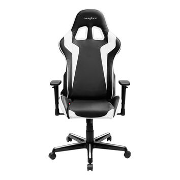 DXRACER FH00NW office chair pc gaming chair automotive seat-Black and White