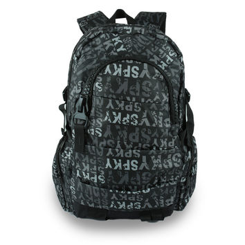 Comfort Stylish On Sale Back To School Hot Deal College Alphabet Casual Backpack [4915453444]