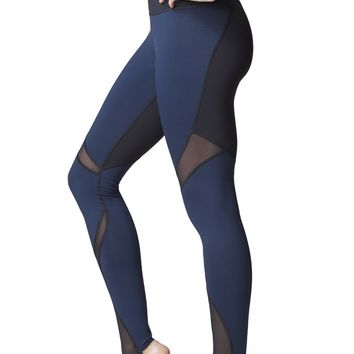 Michi Quasar Legging- Navy | Women's High End Legging