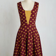 Sailboat-load of Fun Dress in Buttons | Mod Retro Vintage Dresses | ModCloth.com