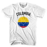Colombia Soccer Ball T-shirt