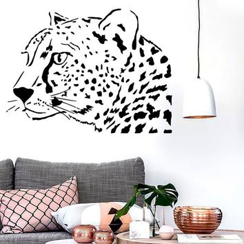 Wall Stickers Vinyl Decal Tiger Leopard Predator Coolest Decor for Room (i692)