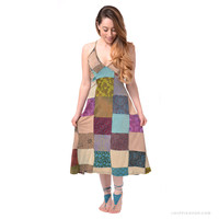 Heather Patchwork Dress