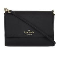 KATE SPADE NEW YORK - Magnolia leather cross-body bag | Selfridges.com
