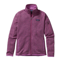 PATAGONIA WOMEN'S BETTER SEATER JACKET MOCK PURPLE
