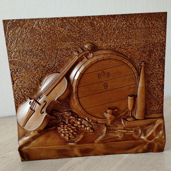 Violin,wood art,gift ideas,home decor.