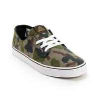 Nike SB x Poler Braata LR Poler Green Camo Canvas Shoe at Zumiez : PDP