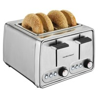 Hamilton Beach 4-Slice Toaster - Chrome