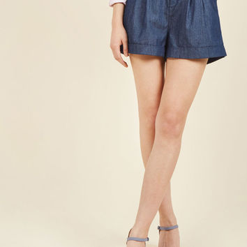 Summer Lovin' Shorts in Chambray