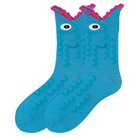 Women's Wide Mouth Fish Socks by K. Bell Socks - FINAL SALE