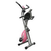 Sunny Health and Fitness Pink Folding Recumbent ... : Target