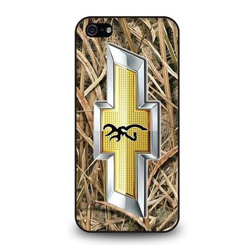 CAMO BROWNING CHEVY iPhone 5 / 5S / SE Case Cover
