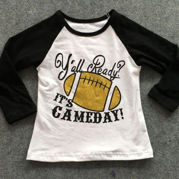 In stock- yall ready its Gameday Football Shirt