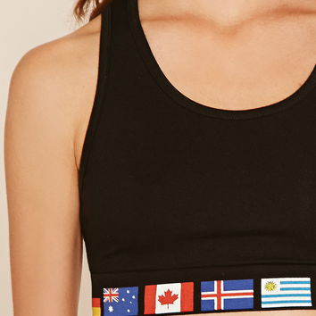 Country Flag Crop Top