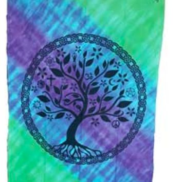 Multi Faith Tree of life tapestry