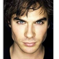 The Vampire Diaries Ian Somerhalder HOT iPhone 4/4S Case Limited by Uncle Sam Cases 4 U with ScreenGUARD Protector GIFT