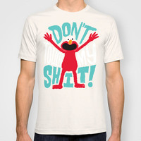 Crazy Elmo T-shirt by Chris Piascik