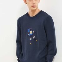 Lacoste Robot Crew Neck Sweater | Urban Outfitters