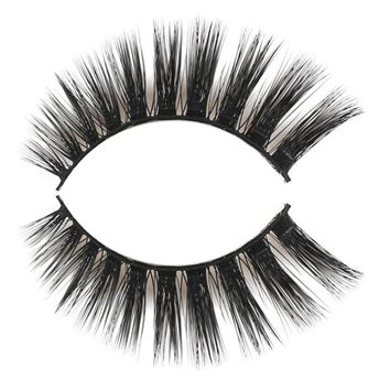 3 Pairs Natural False Eyelashes Soft Thick Women Handmade Makeup Lashes