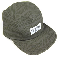 Quiet Life: Rope 5 Panel Hat - Army