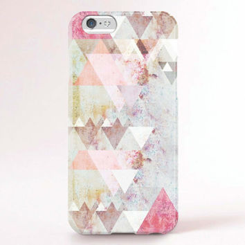 iPhone 6s case, iPhone 6s plus case, iPhone 6 Case, iPhone 6 Plus Case, iPhone 5S Case, iPhone 5C Case - Geometric Triangles
