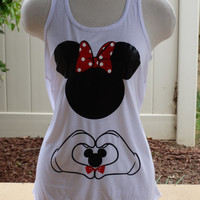 Free Shipping for US Mommy to Be. Minnie Flowy Tank Top.