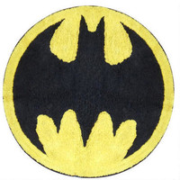 Batman Logo Throw Rug | WBshop.com | Warner Bros.
