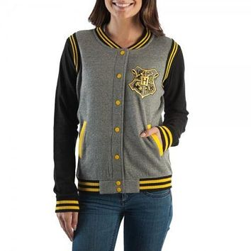 Harry Potter Hufflepuff Quidditch Junior Varsity Jacket