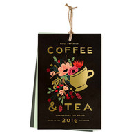 2016 Coffee & Tea Kitchen Wall Calendar
