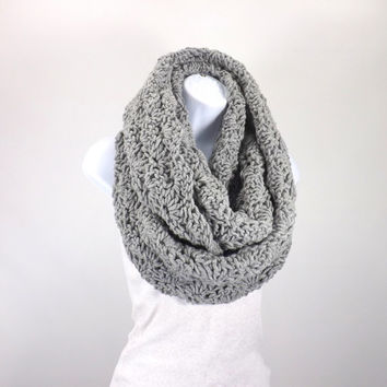 SALE Chunky Infinity Scarf /OXFORD/, Lace Infinity Scarf, Woman Scarf, Gift Idea