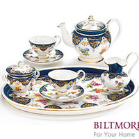 Biltmore Porcelain Miniature Tea Set