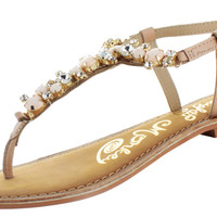 Naughty Monkey Bling Blang Women's Thong Sandals Shoes