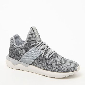 adidas Originals Tubular Runner PrimeKnit Gray Shoes - Mens Shoes - Brown - 11