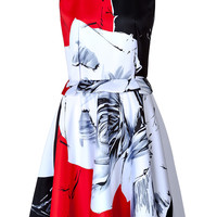 Prabal Gurung - Rose Print Dress