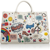 Anya Hindmarch - Ebury Maxi Stickered-Up leather tote