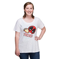 Deadpool Tacos Ladies' Oversized Tee - Exclusive