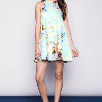 Midsummers Dream Floral Flare Dress