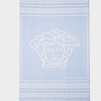 Young Versace Soft Medusa and Greca Blanket for New Born | US Online Store