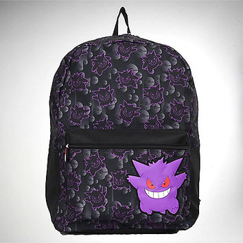 Pokemon Gengar Ziptop Backpack - Spencer's