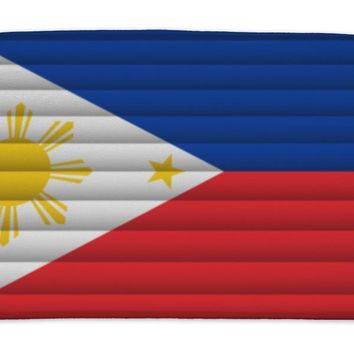 Bath Mat, National Flag Of Philippines