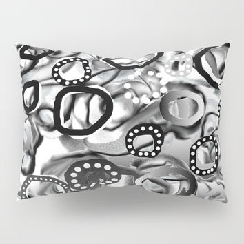 Ice Bubbles 02 Pillow Sham by Zia
