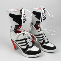 Harley Quinn Boots for Cosplays & Costumes *SUICIDE SQUAD*