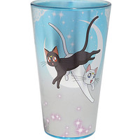 Sailor Moon Luna And Artemis Pint Glass
