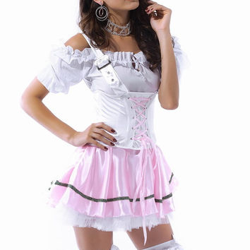 Sexy Princess Mini Dress Party Costumes, Bavarian Beauty Costume LC8494+ Cheaper price + Cost + Fast Delivery