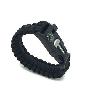 Paracord Survival Compass Bracelet