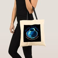 Official Team Member Coffee Consumption Typography Tote Bag